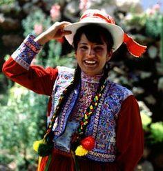 Peru traditional clothing