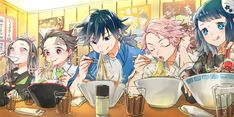 Read Kimetsu No Yaiba / Demon slayer full Manga chapters in English online! Manga Anime, Anime Demon, Anime Art, Demon Slayer, Slayer Anime, Dengeki Daisy Manga, Anime Bebe, Otaku, Familia Anime
