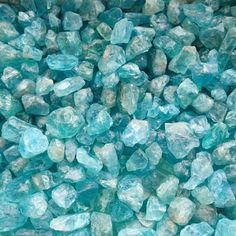 25gm Apatite rough stones - 3-14mm - appx. 55pc / small raw blue mineral by StructureMinerals on Etsy https://www.etsy.com/listing/239868615/25gm-apatite-rough-stones-3-14mm-appx