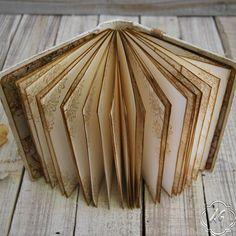 Shabby chic photo album Wedding guest book por SevenMemoriesBookArt
