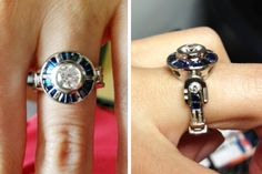 LOVE AND STAR WARS: CUSTOM R2D2 ENGAGEMENT RING