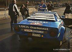 Darniche Mahe Lancia Stratos Winner Montecarlo 1979
