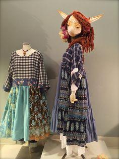 L/XL Navy Blue Recycled Shirt Dress-Print Mix by raggandbone