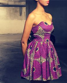 Like the dress and the very old and famous west african pattern by Vlisco