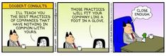 Dilbert comic strip for from the official Dilbert comic strips archive. Dilbert Cartoon, Dilbert Comics, Risky Business, Quick Reads, Website Features, Word Of Mouth, Strategic Planning, Best Practice, Emotional Intelligence