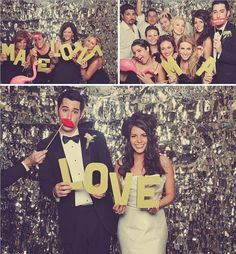 wedding photobooth- LOVE wooden letters