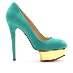 Charlotte Olympia  Green Pebbles A Passion for Luxury Fashion and Watches: EMERALD GREEN PANTONE COLOUR OF THE YEAR - OUR SHOES SELECTION  http://www.greenpebblesblog.com/2013/01/emerald-green-pantone-colour-of-year_637.html#