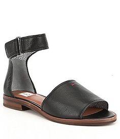 GB Field-Day Back Zip Perforated Block Heel Flat Sandals vur2IVs