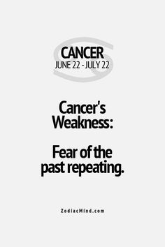 #CANCER ♋️ I fear I lead the same life as my mother's. It has already started on my sister
