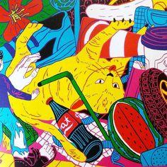 @paul.paetzel #brutlikes #illustration #lowbrow #popsurrealism #popart #popculture #art #digitalart by brutmagazine