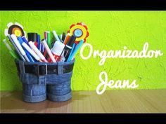 Organizador jeans (Manualidad 132) - YouTube