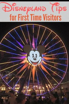 Disneyland Tips for First Time Visitors.