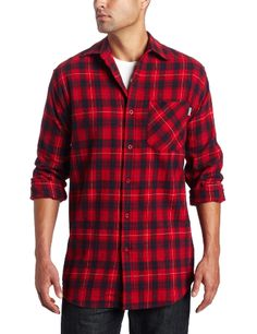 Carhartt Men's Long sleeve Flannel Plaid Shirt $17.70 - $47.64