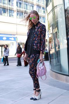 Street Style From London Fashion Week, Abby Wilson, stylist assistant