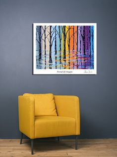 Forest of Argyle - Special Edition Canvas