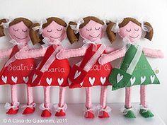 felt craft dolls -lamb and sheep ideas for felt