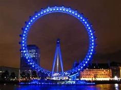 ride the London Eye at night