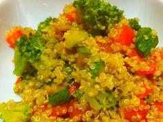 Quinoa con verdure saltate tutto il benessere e salute in questo piatto senza…
