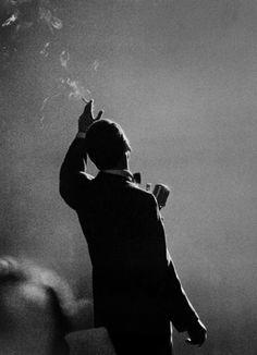 Herman Leonard, Frank Sinatra, Monte Carlo (1958)