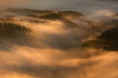 It's a New Dawn by Izabela & Dariusz Mitręga on 500px #photography #landscape  #sunrise #mist