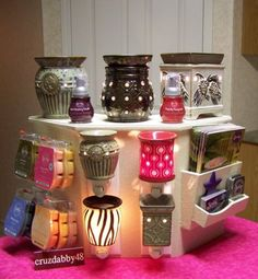 Scentsy display. Party or vender