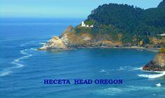 A coffee mug featuring Heceta Head Lighthouse - Oregon Coast - north of Florence - OR