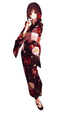 [KagePro] Ayano Tateyama Kimono render (png) by orihimeyuuka on DeviantArt Anime Kimono, Yukata Anime, Kimono Animé, Manga Girl, Art Manga, Manga Drawing, Anime Art, Manga Characters, Female Characters