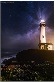 Pigeon Point Lighthouse by Conrad Tan on 500px