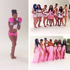 breast cancer photo shoot   ... , Emily B. & More Shoot PINK Campaign For Breast Cancer Awareness