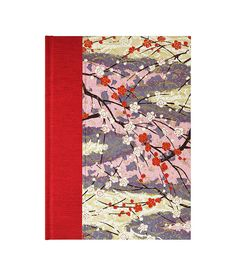 "Gift for an #Artist, gorgeous Book w/Blank Paper Journal  ""WILD CHERRY"" just $25"