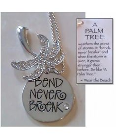 If someone can find this for me I so need it! Jimmy Buffett's Margaritaville Store Key West - Palm Tree Pendant Necklace- give to her when she gets older-maybe before entering middle school or high school graduation present Tree Of Life Meaning, Tree Tattoo Meaning, Tattoos With Meaning, Tattoo Tree, Deer Tattoo, Raven Tattoo, Tattoo Ink, Arm Tattoo, Sleeve Tattoos