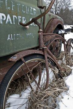 De vergeten fiets