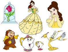 Krafty Nook: Beauty and the Beast SVG Files
