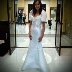 I want a Filipiniana like this one too :)