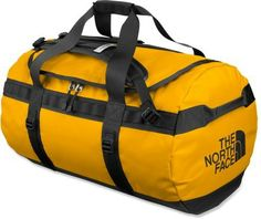 TNF Base Camp Duffel- Large Yellow (we got these for Kili five years ago, and have been using them ever since-- GREAT bags....I especially love the backpack straps-  my sister borrowed mine for a month in India, and it was perfect for getting around)