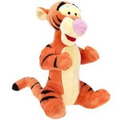 Stuffed tigger toy
