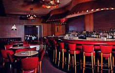 "Inside~""MARIO'S"" the Finest Italian Restaurant in Detroit"