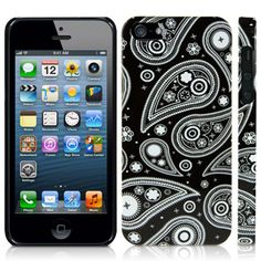 Apple iPhone 5 Paisley Glossy Image Back Cover By Call Candy - Twilight Paisley 122-095-009  Twilight Paisley High quality case for the Apple iPhone 5. Each cover is made from a special tough gel, which makes it flexible like silicone but tougher than a crystal case and provides protection and extra grip, which minimizes the chance of dropping your device. Jellibean's unique design allows easy access to all buttons, controls & ports without having to remove the case.