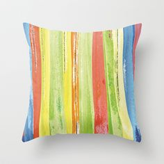 colorful brushes Throw Pillow by aticnomar - $20.00 Brushes, Colorful, Throw Pillows, Gifts, Gift Ideas, Toss Pillows, Presents, Cushions, Blush