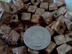 free s square wood beads, 10mm