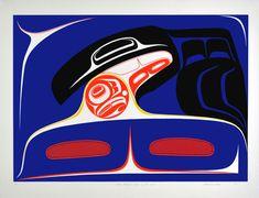 Raven Bringing Light to the World (1987) by Robert Davidson