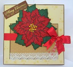 Sunny Summer Crafts: Christmas In Full Bloom