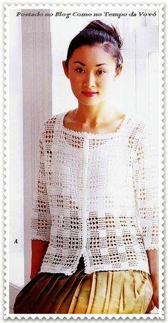 Fabulous Crochet a Little Black Crochet Dress Ideas. Georgeous Crochet a Little Black Crochet Dress Ideas. Filet Crochet, T-shirt Au Crochet, Cardigan Au Crochet, Mode Crochet, Black Crochet Dress, Crochet Coat, Crochet Shirt, Crochet Jacket, Crochet Clothes