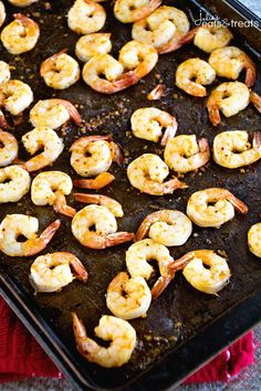 Cajun Broiled Shrimp Recipe ~ Quick, Easy Broiled Shrimp Perfect for a Light & Healthy Weeknight Dinner, Fancy Enough for Date Night and Delicious Enough for a Party Appetizer! ~ http://www.julieseatsandtreats.com: