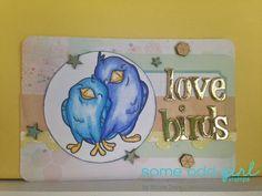 Sweet Designzz using Birds of Love #digi from Some Odd Girl. #digitalstamp #birdstamp www.someoddgirl.com