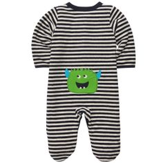 Terry Snap-Up Sleep & Play | Baby Boy New Arrivals