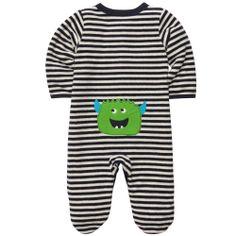 Terry Snap-Up Sleep & Play   Baby Boy New Arrivals