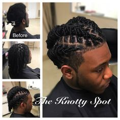 Loc Style Styled By: Maquita James Call (803)-237-1894 or Book a consultation online at: www.styleseat.com/theknottyspot #dreadstyles #dreadlockstyles #theknottyspot #styles #masterloctician #locs #locstyles #twist #barrels #barreltwist #barreltwiststyle #malelocstyles #malelocstyle #menlocstyles #maledreadstyles #locnation #locnationthemovement #locksworld_onelove Dreadlock Hairstyles For Men, Dreadlock Styles, Dreads Styles, Black Men Hairstyles, Twist Hairstyles, Short Hair Twist Styles, Best Braid Styles, Loc Styles For Men, Beard Styles