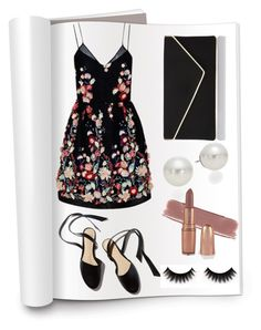 """Untitled #297"" by voicu-ana ❤ liked on Polyvore featuring The 2nd Skin Co., L.K.Bennett and AK Anne Klein"