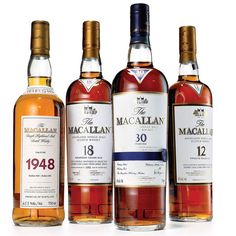 I wasn't a scotch fan until I tasted Scottish whisky aged in Spanish sherry casks. Good Whiskey, Cigars And Whiskey, Irish Whiskey, Scotch Whisky, Macallan Whisky, Cocktails, Alcoholic Drinks, Beverages, Single Malt Whisky